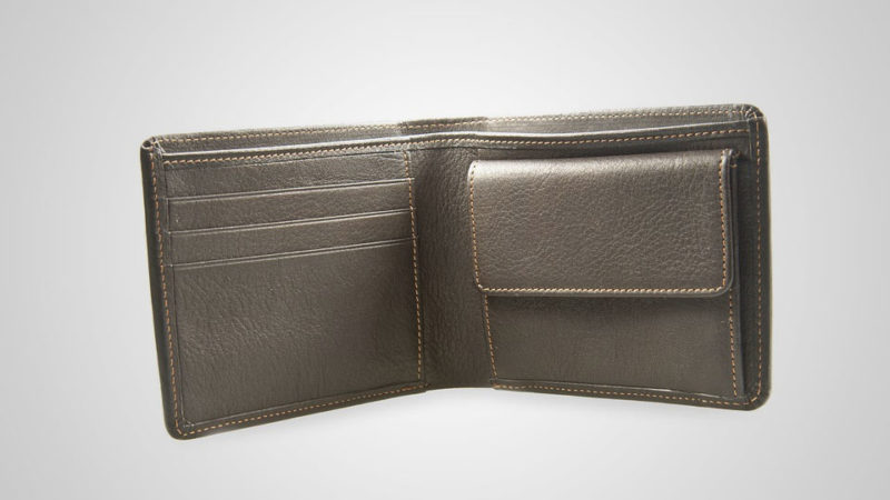 Męskie skórzane portfele